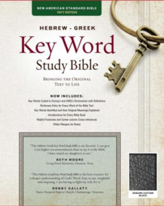 1617159875 | NASB Hebrew-Greek Key Word Study Bible