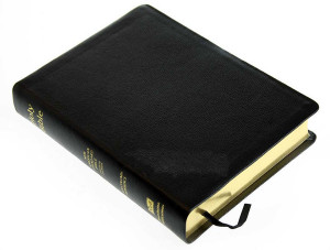 1581351593 | NASB Side-Column Reference WideNASB Side-Column Reference Wide Margin Bible Black Genuine Leather