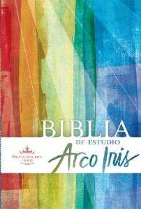 1558195599 | Spanish RVR 1960 Rainbow Study Bible
