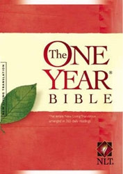 1414302045 | NLT2 One Year Bible