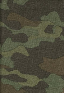 1414322011 | NLT Compact Camo Bible Zipper Green Camo Canvas