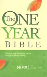 1414306423 | NIV One Year Bible Compact