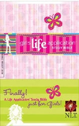 1414306458 | NLT Kid's Life Application Bible for Girls