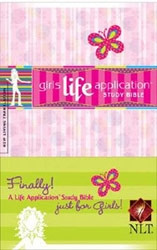 1414306466 | NLT Kid's Life Application Bible for Girls