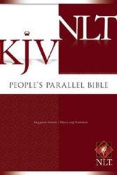 1414307152 | KJV/NLT People's Parallel Bible Hardcover