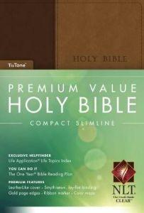 1414369875 | NLT2 Premium Value Compact Slimline Bible