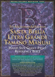1558190635 | RV  Spanish Hand-Size Reference Bible1960-Giant Print