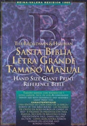 1558190643 | RV Hand Size Giant Print Reference Bible1960