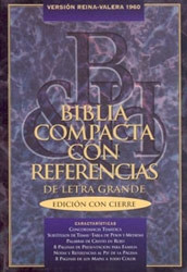 1558192913 | RV Compact Quick Reference Bible-1960-Large Print Zipper