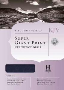 1558196374 | KJV Super Giant Print Reference Bible