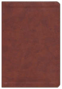 1462779832 | KJV Large Print Ultrathin Reference Bible-British Tan LeatherTouch Indexed