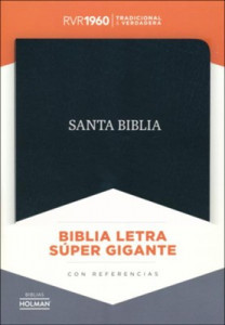 1462791263 | Spanish RVR 1960 Super Giant Print Reference Bible