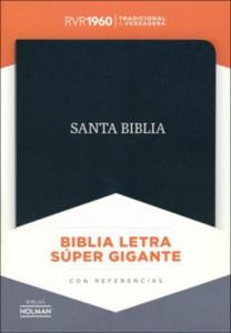 1462791263 | Spanish RVR 1960 Super Giant Print Reference Bible
