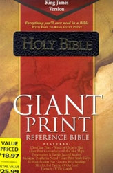 1558197516   KJV Giant Print Reference Bible