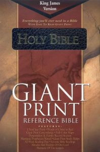 1558197524 | KJV Giant Print Reference Bible