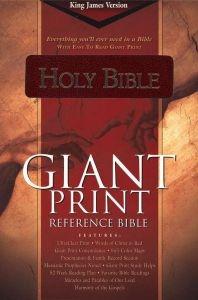 1558197559 | KJV Giant Print Reference Bible