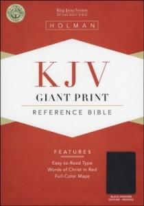 155819813X | KJV Giant Print Reference Bible