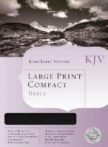 1558198768   KJV Large Print Compact Bible