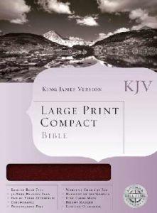 1558198784 | KJV Large Print Compact Bible Large Print