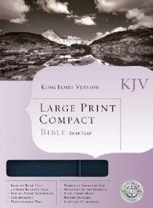 1558198806 | KJV Large Print Compact Bible