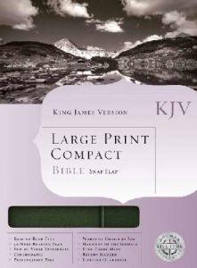 1558198830   KJV Large Print Compact Bible