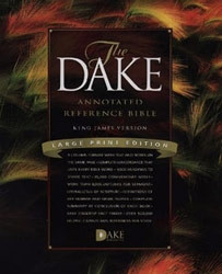 1558291180 | KJV Dake Annotated Reference Bible Large Print