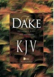 1558291776 | KJV Dake Annotated Reference Bible
