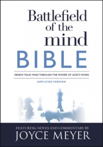 1455595322   Amplified Battlefield Of The Mind Bible