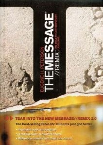 1600060021 | The Message Bible Remix 2.0