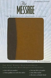 1576838404 | The Message Bible Numbered