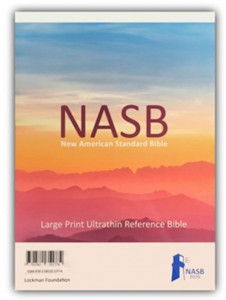 1581351771 | NASB 2020 Large Print Ultrathin Reference Bible
