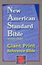 1581351038 | NASB Giant Print Reference Bible