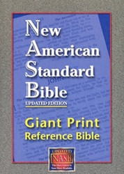 1581351070 | NASB Giant Print Reference Bible
