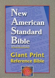 1581351089 | NASB Giant Print Reference Bible