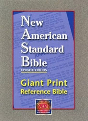 1581351097 | NASB Giant Print Reference Bible