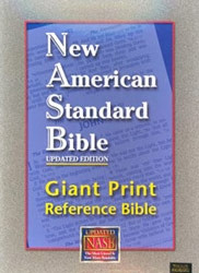1581351267 | NASB Giant Print Reference Bible