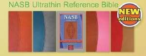 158135133X | NASB Ultrathin Reference Bible