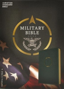HCSB Military Bible For Sailors Navy Blue LeatherTouch