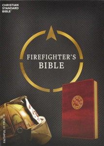 1433651742 | CSB Heroes Bible Firefighter Burgundy LeatherTouch