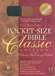 1586401467 | HCSB Pocket Bible-Classic Slide Tab