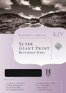 1586401874 | KJV Super Giant Print Reference Bible