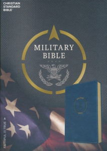 HCSB Military Bible Royal Blue LeatherTouch for Airmen