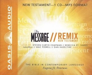 1598594591 | The Message Remix: The New Testament Audio Bible on MP3-CD