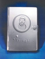 0842372334 | NLT Metal Bible Thirsty Silver