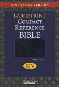 1598561251 | KJV Large Print Compact Reference Bible with Magnetic Closure