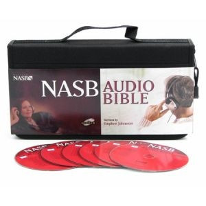 1598561162 | NASB Complete Bible on CD's Voice Only