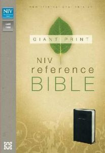 0310438586 | NIV Giant Print Reference Bible