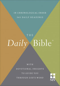 NIV Daily Bible In Chronological Order Softcover
