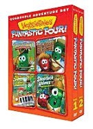 880893 | DVD Veggie Tales Funtastic Four (2 DVD)