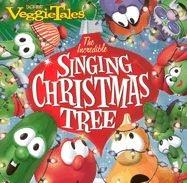 5558865822   CD Veggie Tales Incredible Singing Christms Tree